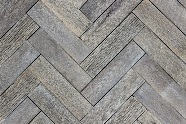 Weathered Gray Herringbone