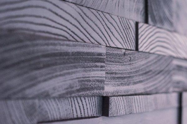 Endgrain panel by NeverWood