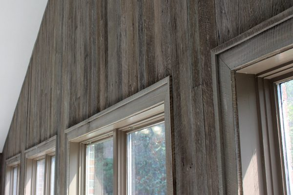 Weathered Gray Barn Wood Wall by NeverWood