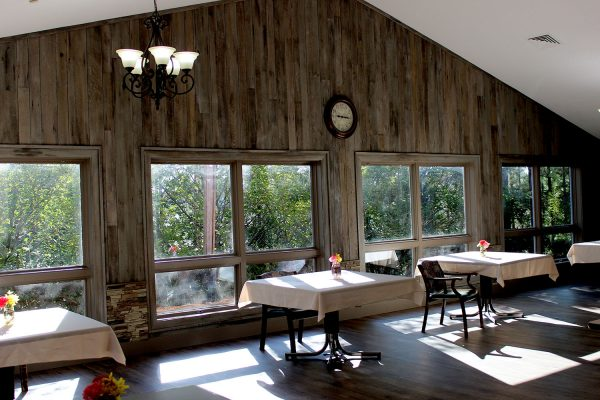 Village Green Dining Room, paneled by NeverWood
